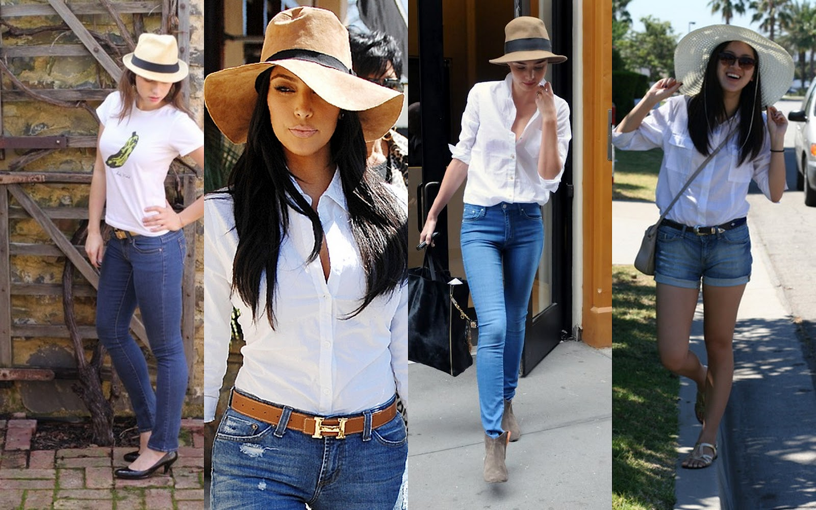 The Power of White Shirt and Blue Jeans – Rising Colors