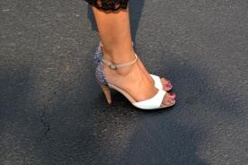 Fuchsia Top Lace Skirt