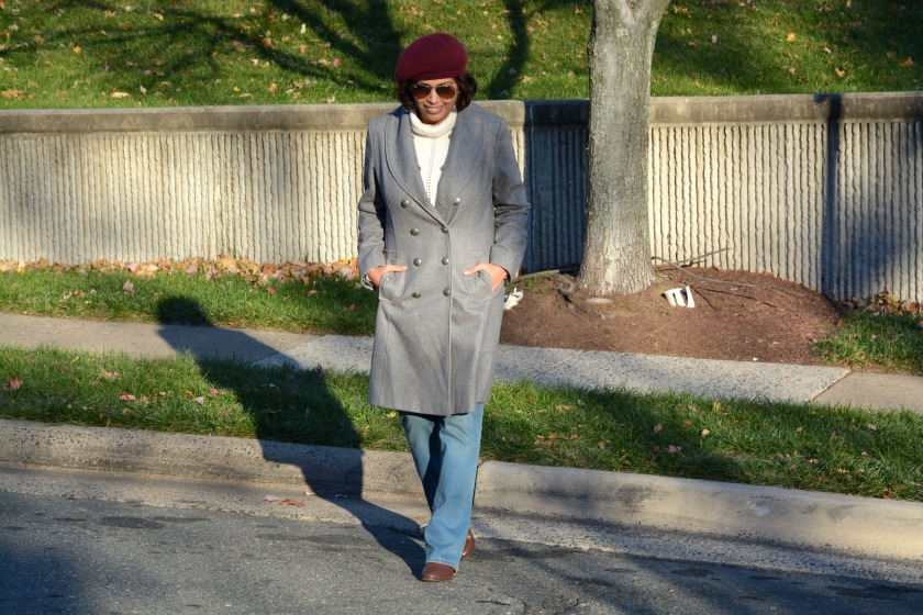Gray Long Coat